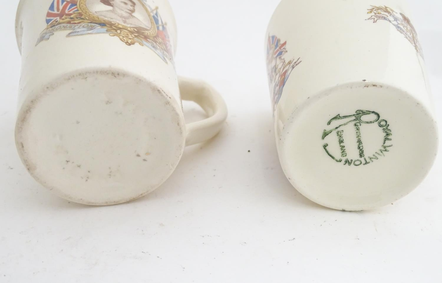 Royal commemorative ware to include three cups and a saucer Please Note - we do not make reference - Image 5 of 6