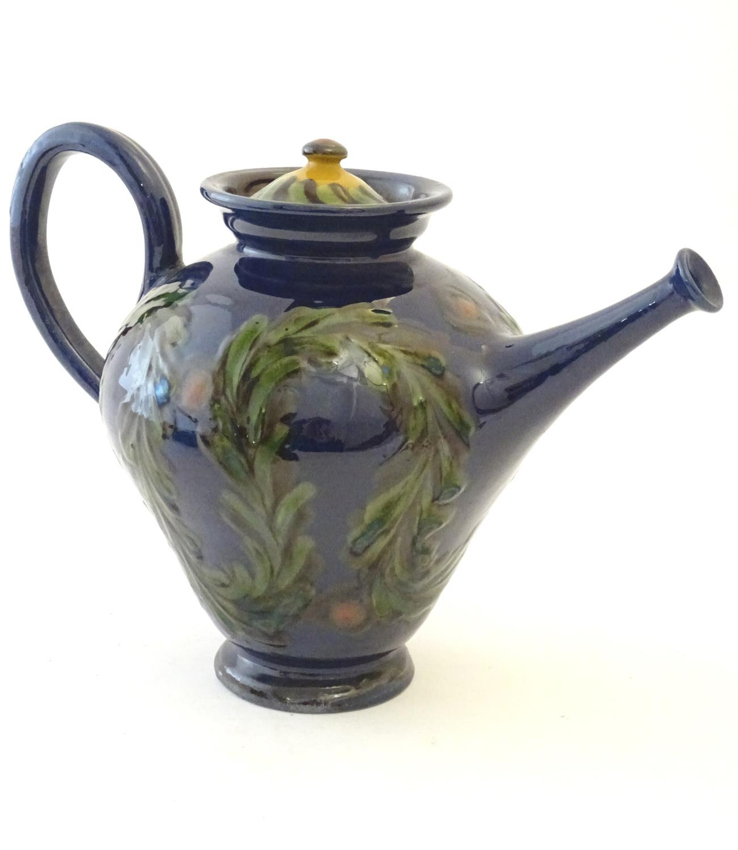 A quantity of Kahler Keramik Danish studio pottery tea wares, comprising a teapot and four cups - Image 26 of 30