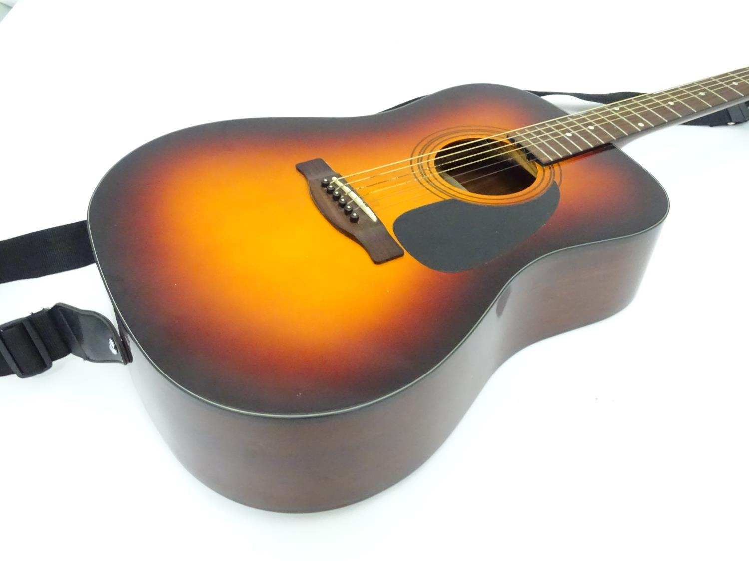 A Fender CD-60 SB acoustic guitar Please Note - we do not make reference to the condition of lots - Image 3 of 5