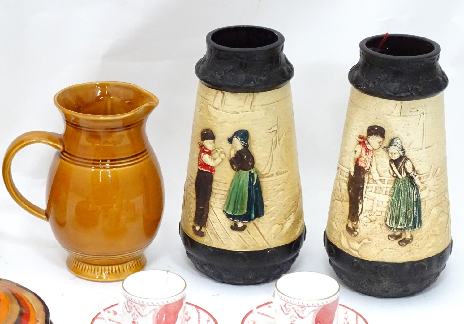 A quantity of assorted ceramics to include a pair of The Royal Opera and The Royal Ballet at - Image 4 of 11