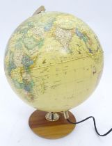A late 20thC globe by Tecnodidattica Please Note - we do not make reference to the condition of lots