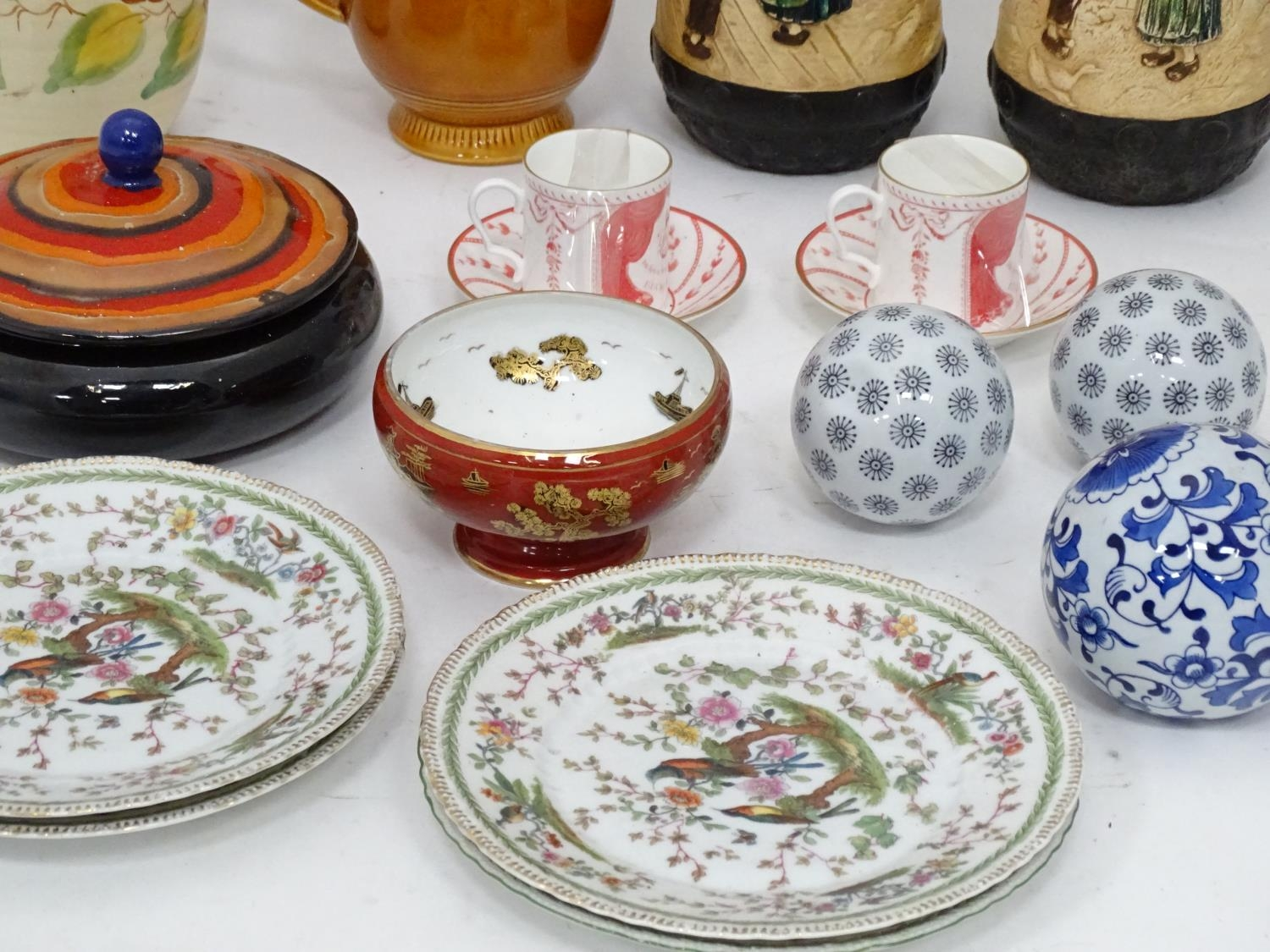 A quantity of assorted ceramics to include a pair of The Royal Opera and The Royal Ballet at - Image 6 of 11