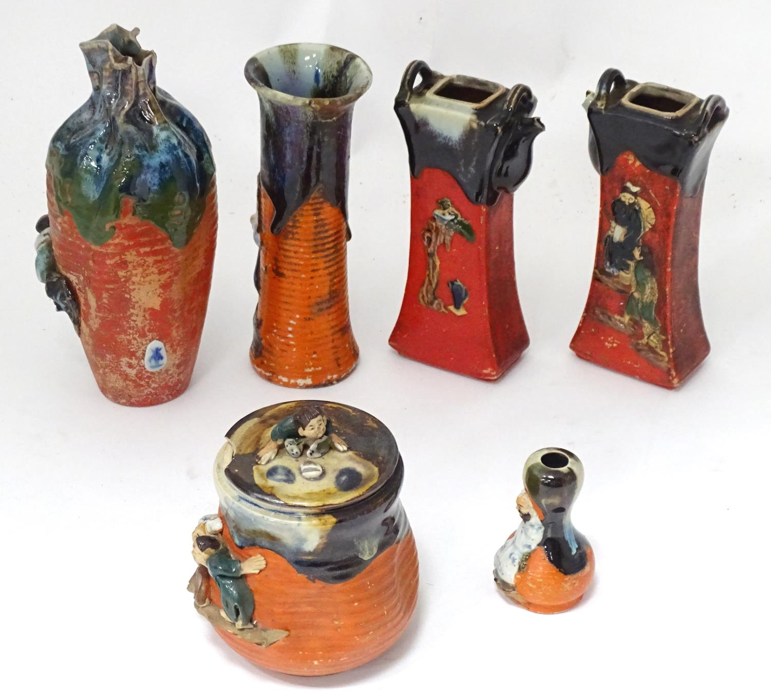 A quantity of Oriental ceramics Please Note - we do not make reference to the condition of lots - Image 5 of 15