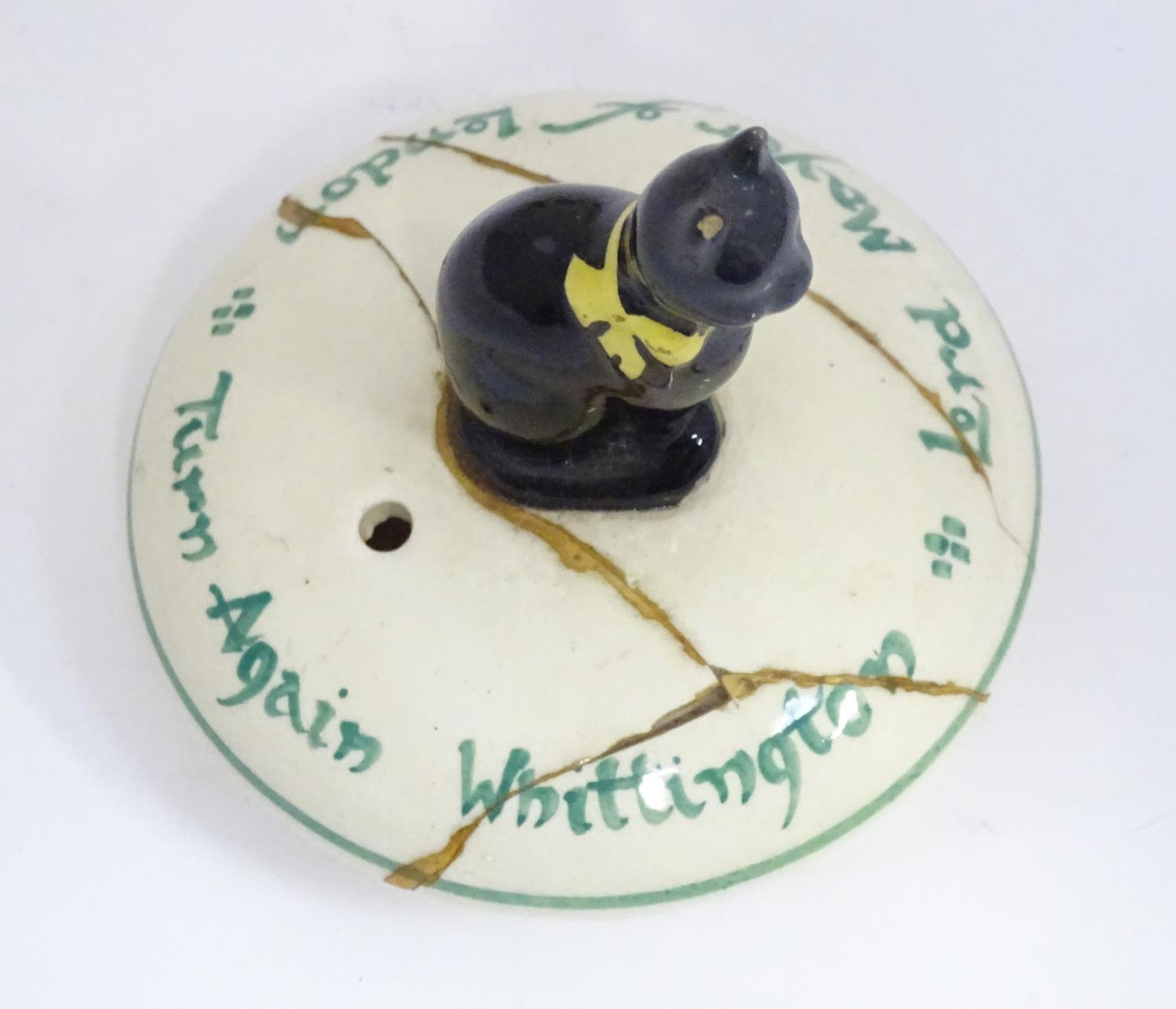 A novelty Dick Whittington teapot Please Note - we do not make reference to the condition of lots - Image 6 of 6