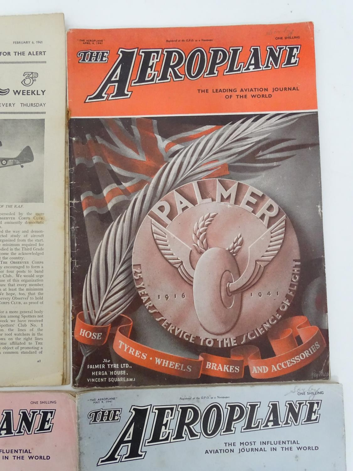 A quantity of 1941 copies of The Aeroplane Spotter magazine and The Aeroplane (8) Please Note - we - Image 4 of 12