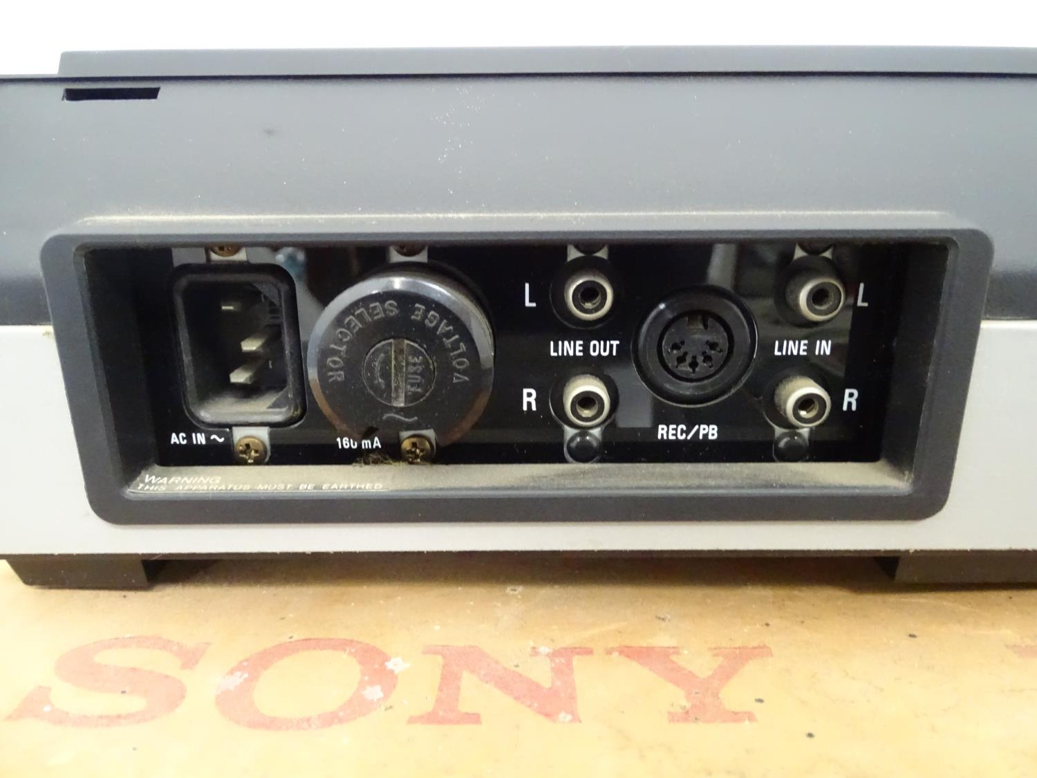 A boxed Sony cassette recorder together with a boxed Vidor radio and a reel to reel tape machine (3) - Image 6 of 6