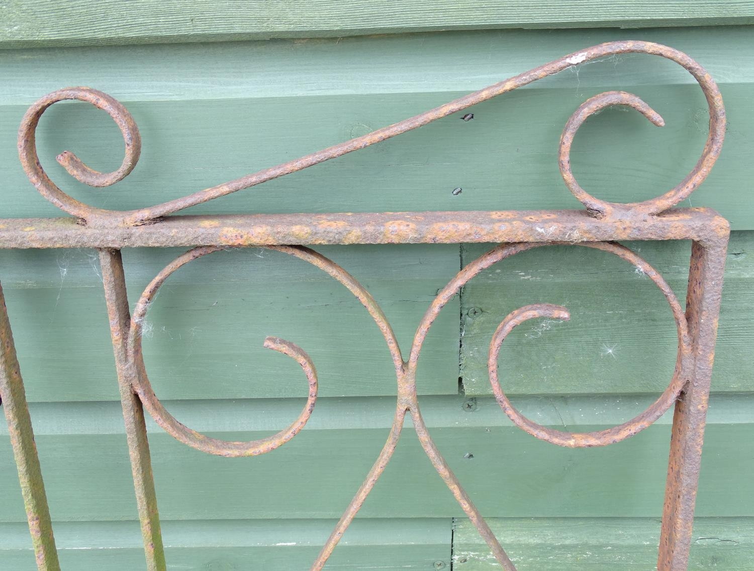A wrought iron gate Please Note - we do not make reference to the condition of lots within - Image 2 of 4