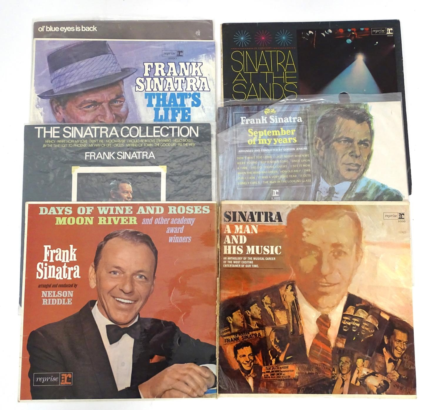 A quantity of Frank Sinatra LP vinyl records Please Note - we do not make reference to the condition - Image 5 of 7