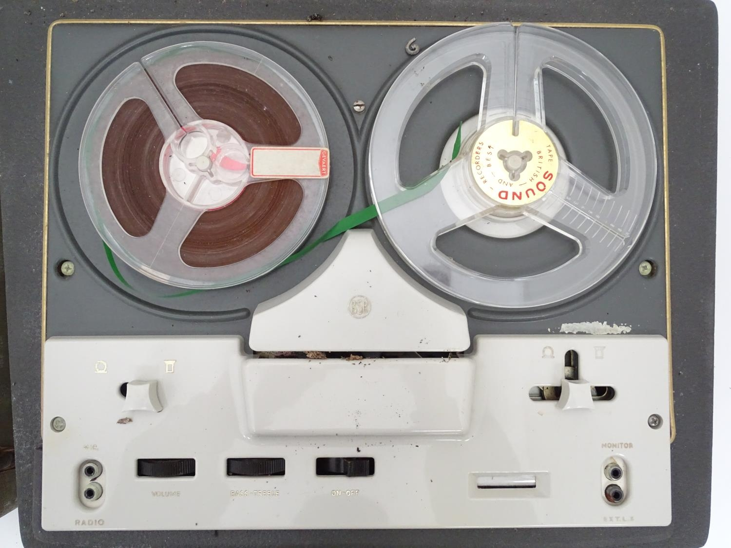 A boxed Sony cassette recorder together with a boxed Vidor radio and a reel to reel tape machine (3) - Image 3 of 6