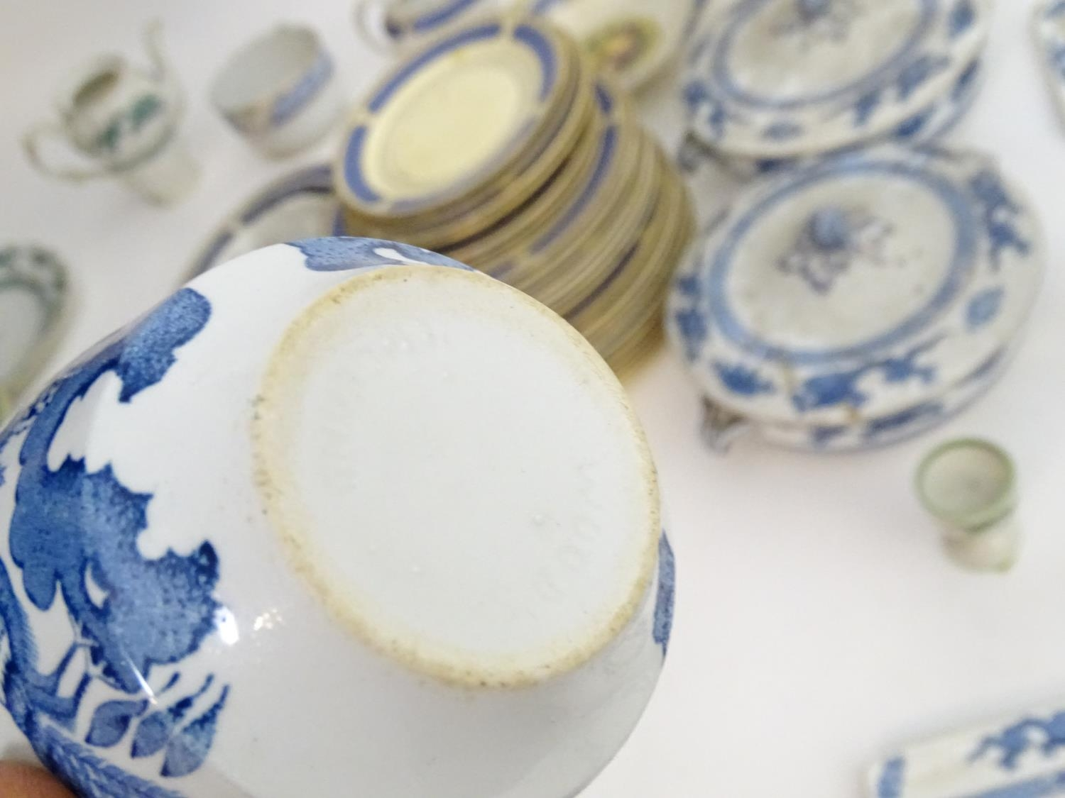 A large quantity of assorted Booths china to include teapots, plates, tureens, jugs, serving dishes, - Image 11 of 17