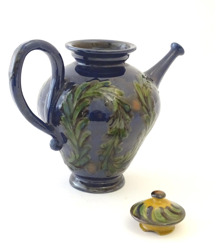 A quantity of Kahler Keramik Danish studio pottery tea wares, comprising a teapot and four cups - Image 27 of 30
