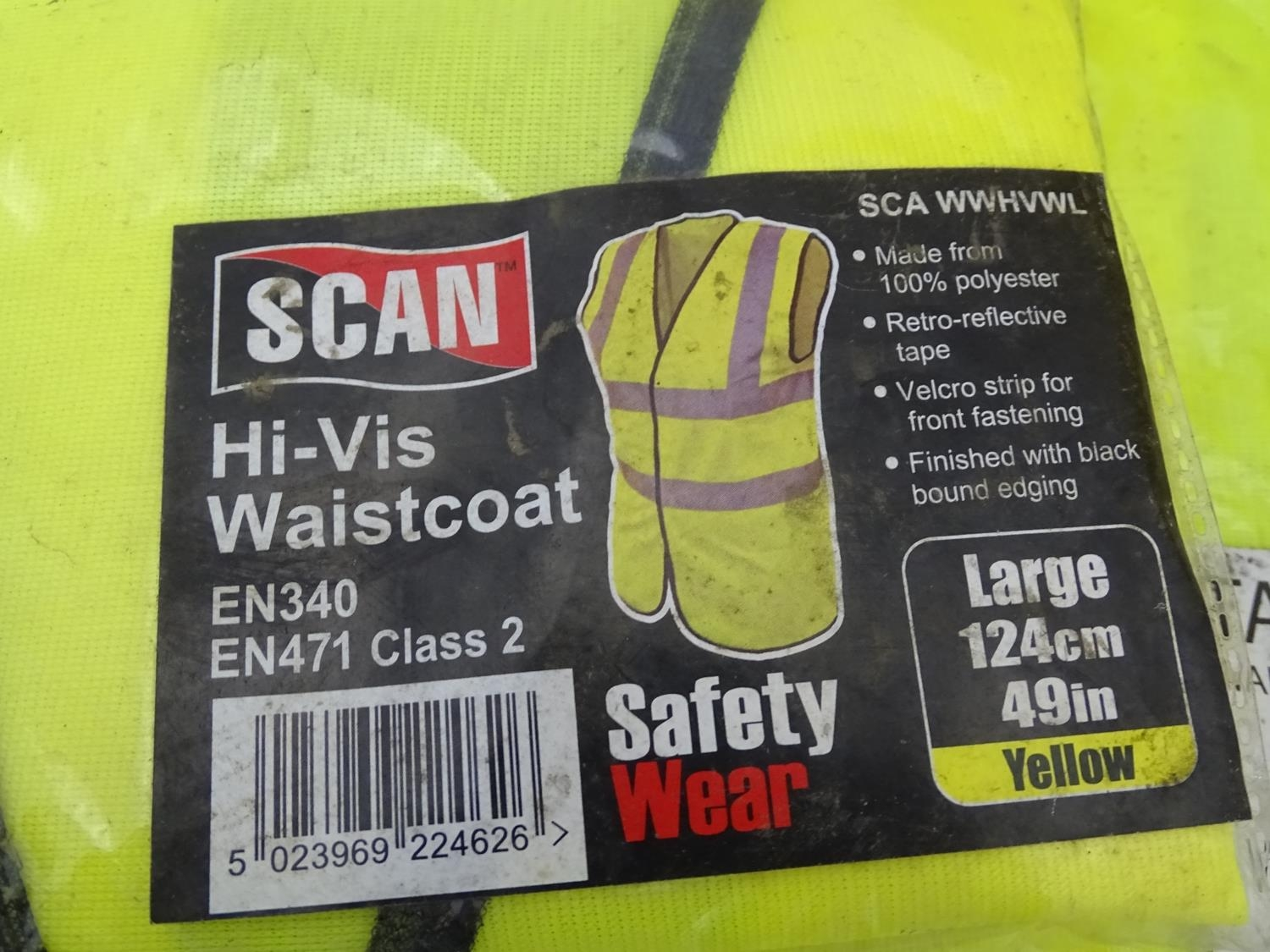 A quantity of health and safety equipment to include hard hats, safety glasses, hi vis vests etc. - Image 5 of 6