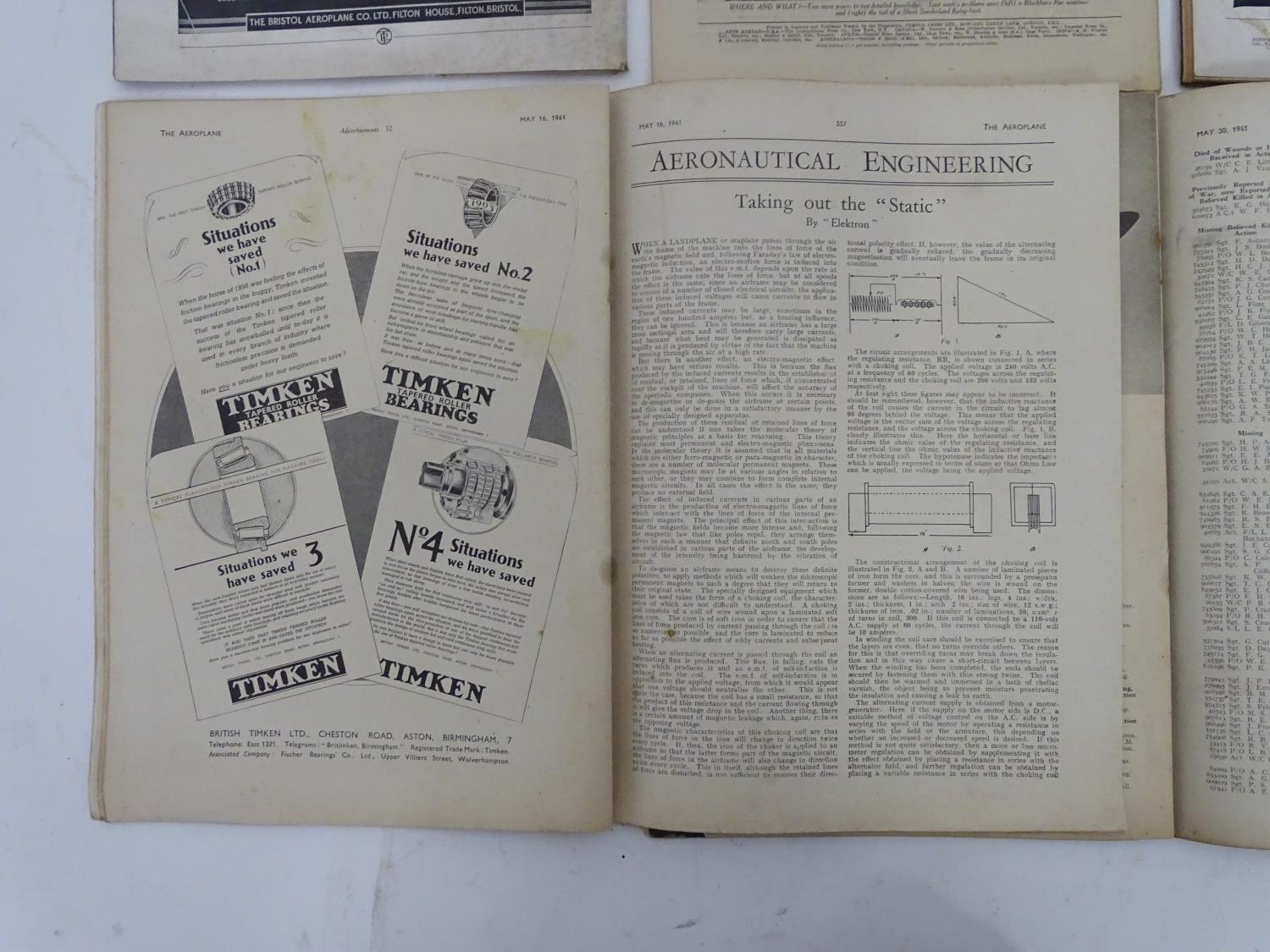 A quantity of 1941 copies of The Aeroplane Spotter magazine and The Aeroplane (8) Please Note - we - Image 2 of 12
