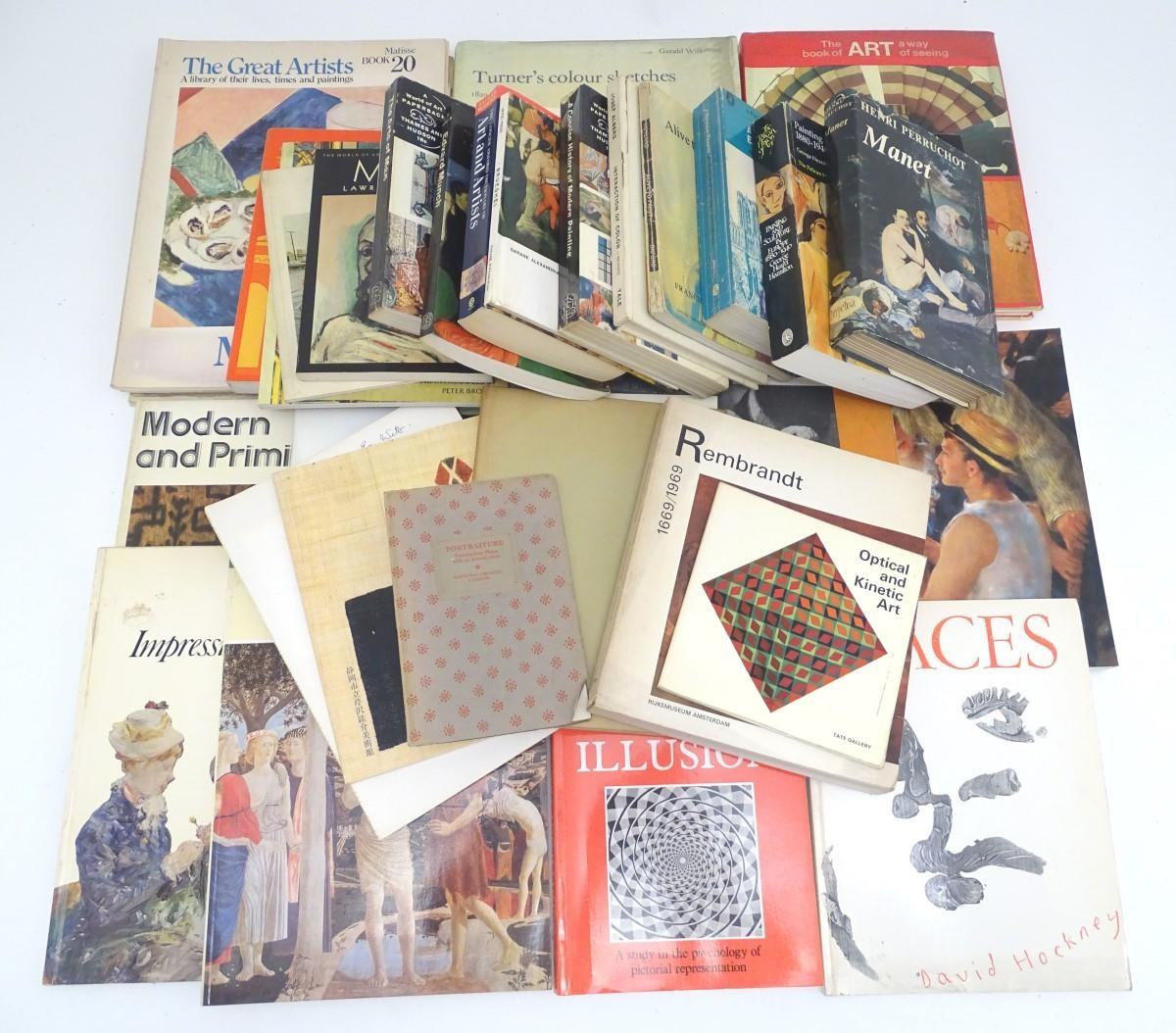 Books: A quantity of books on the subject of art. Titles to include The Art of the West, Henri - Image 3 of 7