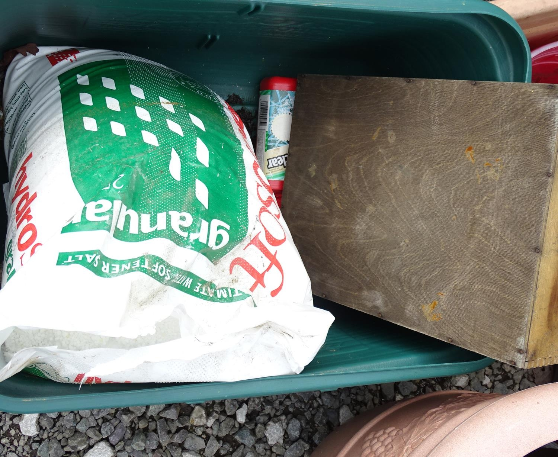 A quantity of propagators, planters, buckets, flower pots etc. Please Note - we do not make - Image 2 of 5