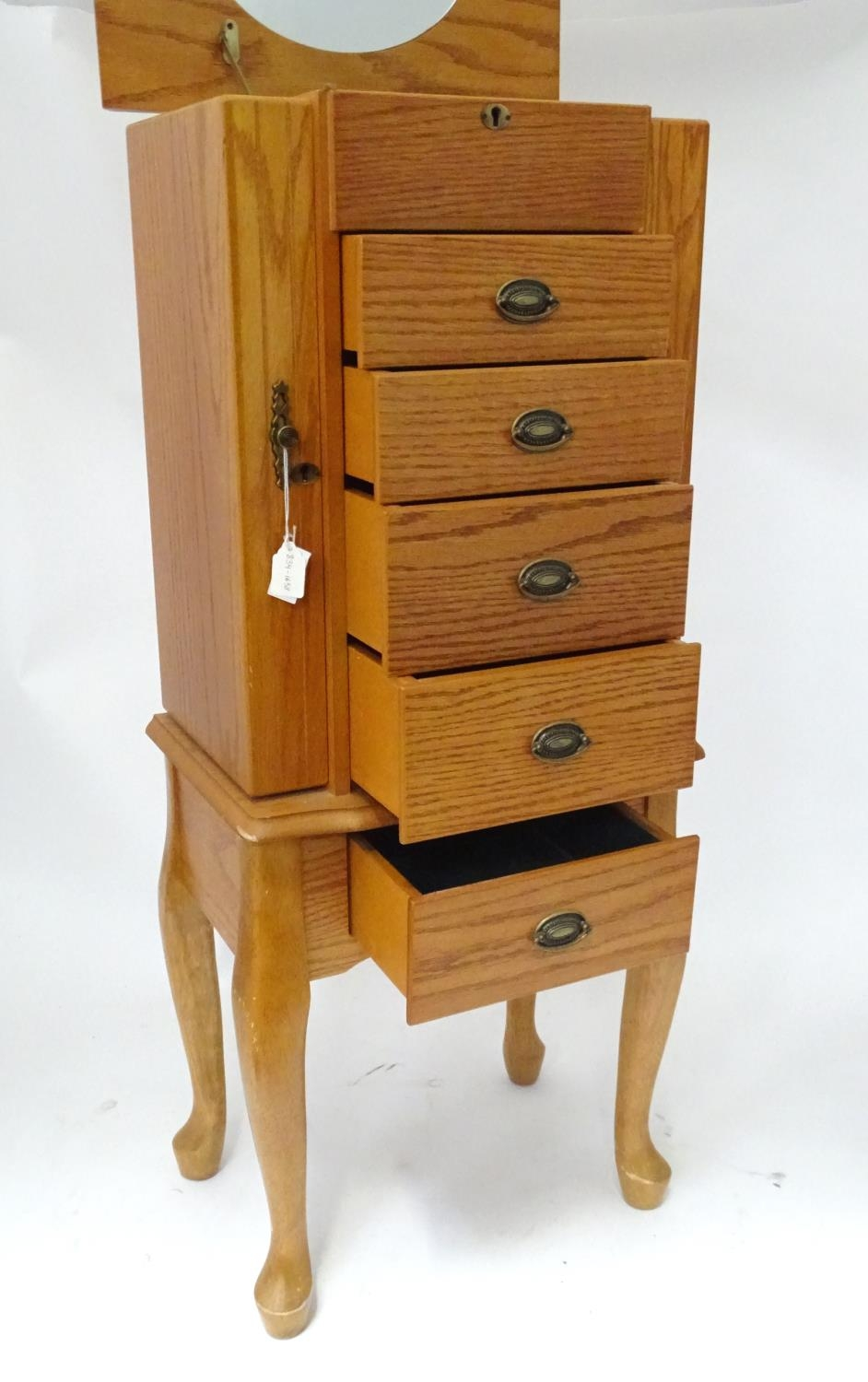 A jewellery cabinet Please Note - we do not make reference to the condition of lots within - Image 5 of 5