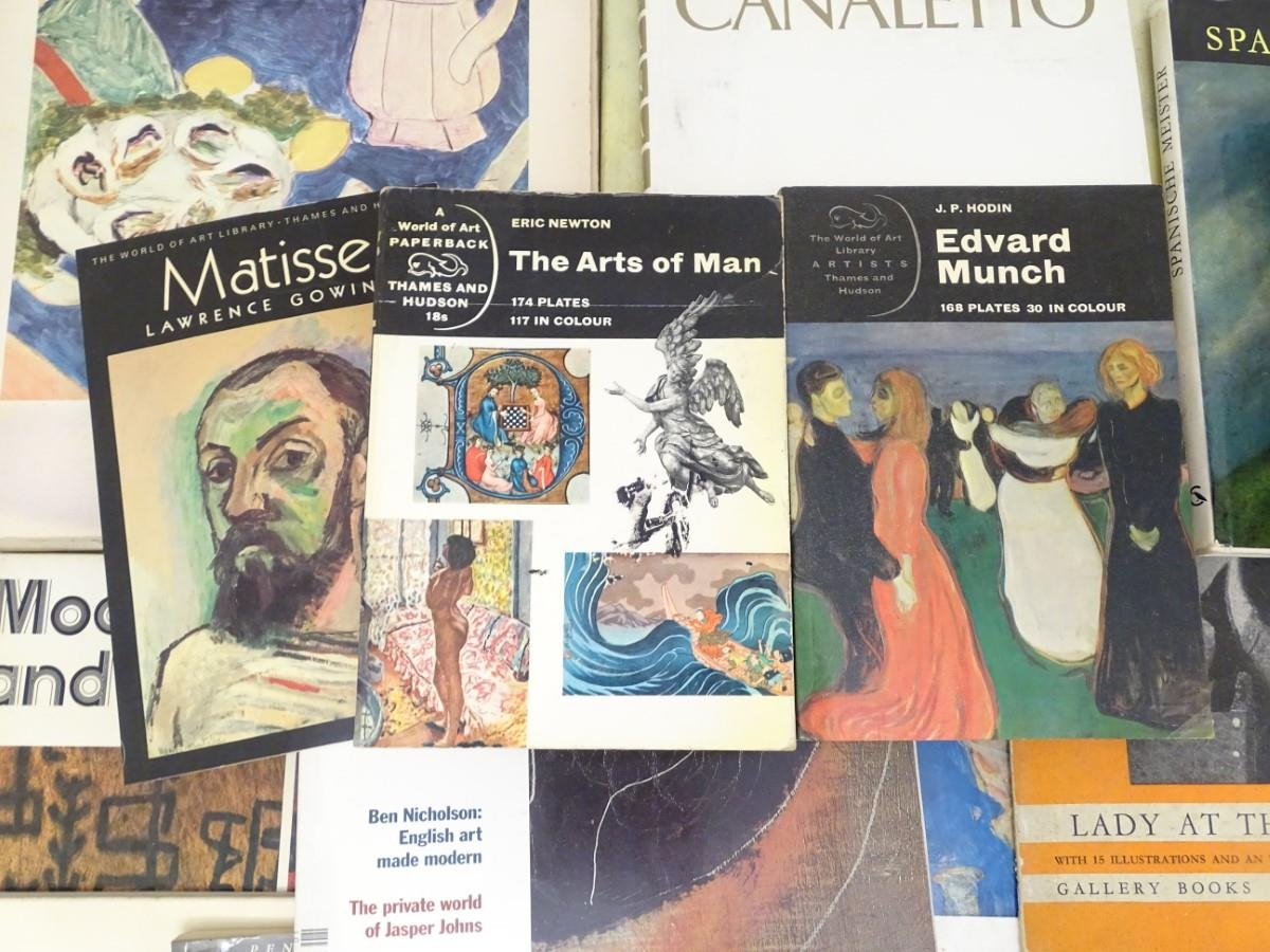 Books: A quantity of books on the subject of art. Titles to include The Art of the West, Henri - Image 2 of 7
