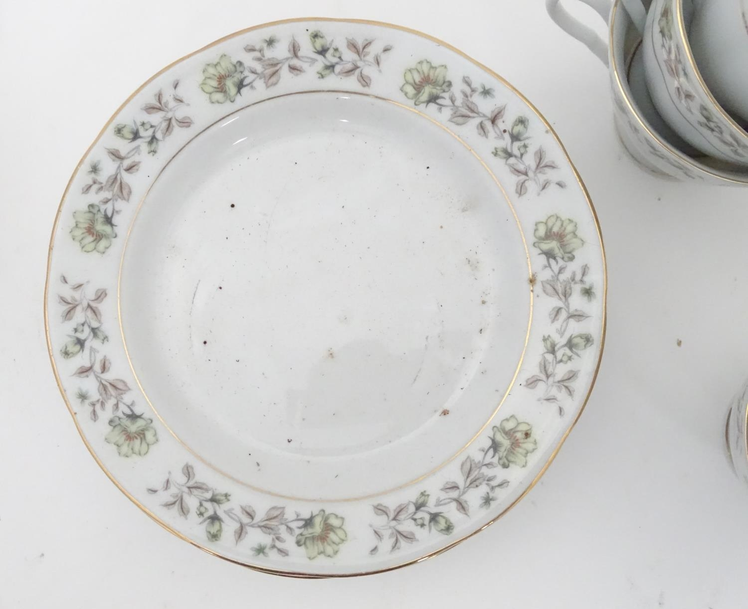 A quantity of assorted ceramics and glass to Colclough cups and saucer, Royal Brierley crystal - Image 10 of 15