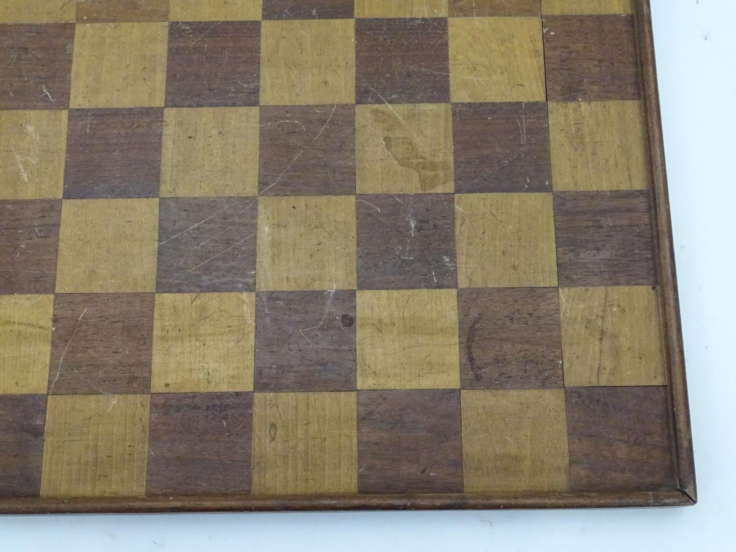 A games / chess board Please Note - we do not make reference to the condition of lots within - Image 3 of 3