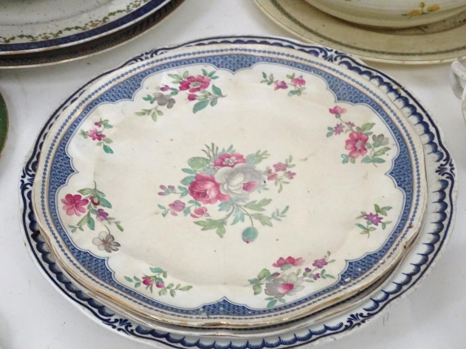 A quantity of assorted Booths china patterns to include Old Staffordshire, Flowerpiece, - Image 10 of 14