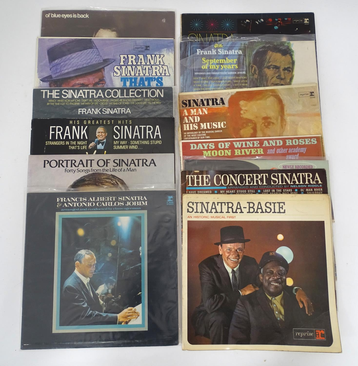 A quantity of Frank Sinatra LP vinyl records Please Note - we do not make reference to the condition