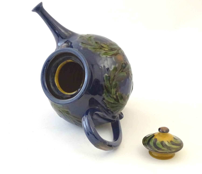 A quantity of Kahler Keramik Danish studio pottery tea wares, comprising a teapot and four cups - Image 29 of 30