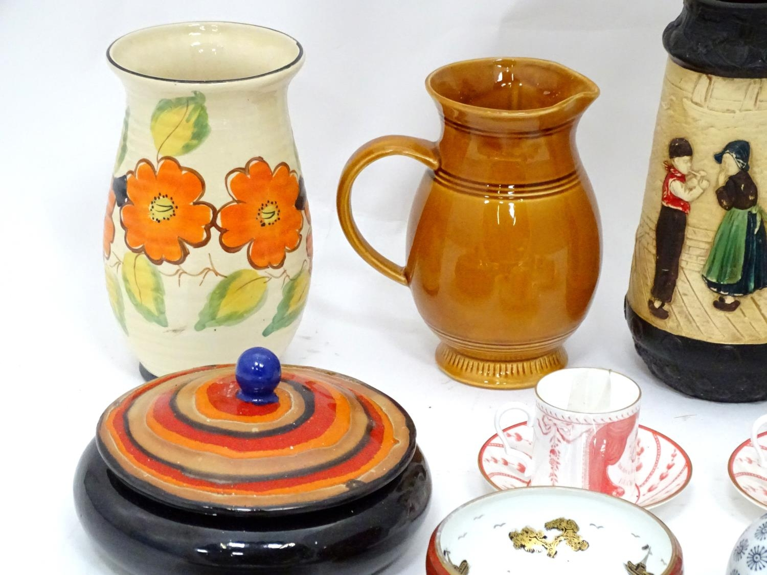 A quantity of assorted ceramics to include a pair of The Royal Opera and The Royal Ballet at - Image 5 of 11