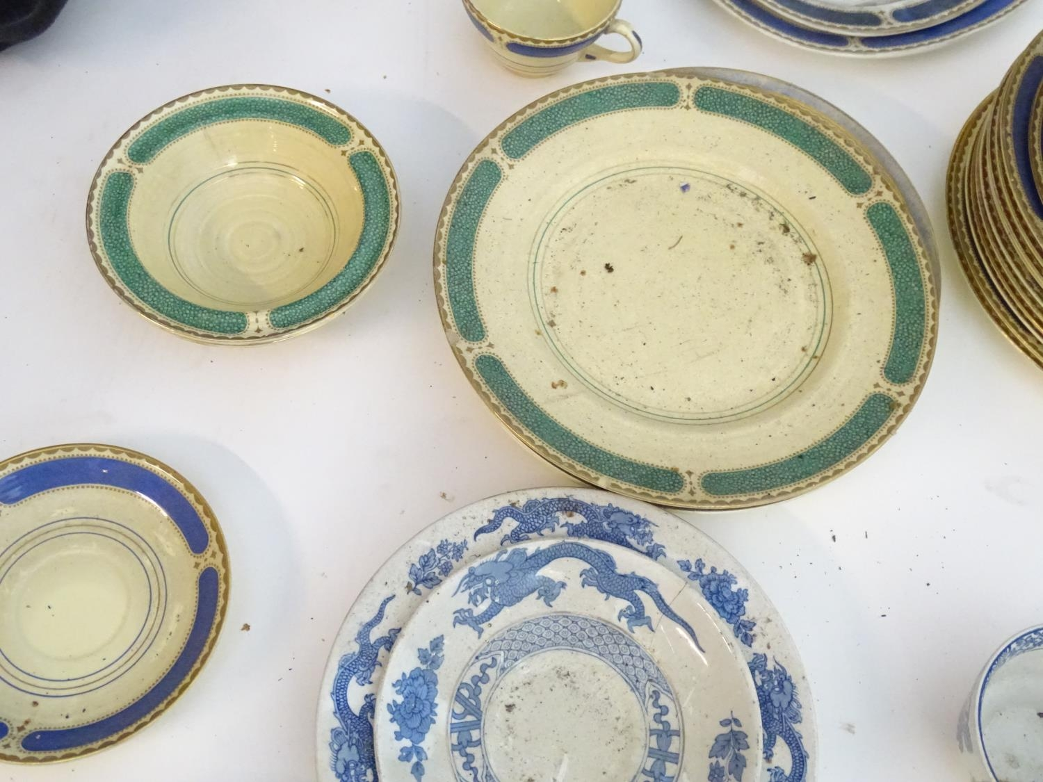 A large quantity of assorted Booths china to include teapots, plates, tureens, jugs, serving dishes, - Image 16 of 17