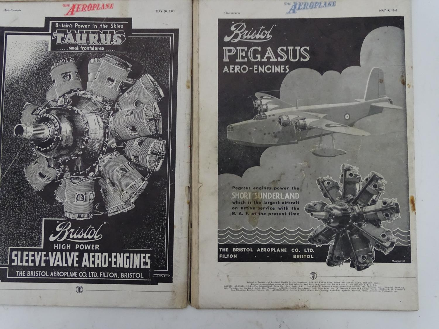 A quantity of 1941 copies of The Aeroplane Spotter magazine and The Aeroplane (8) Please Note - we - Image 10 of 12