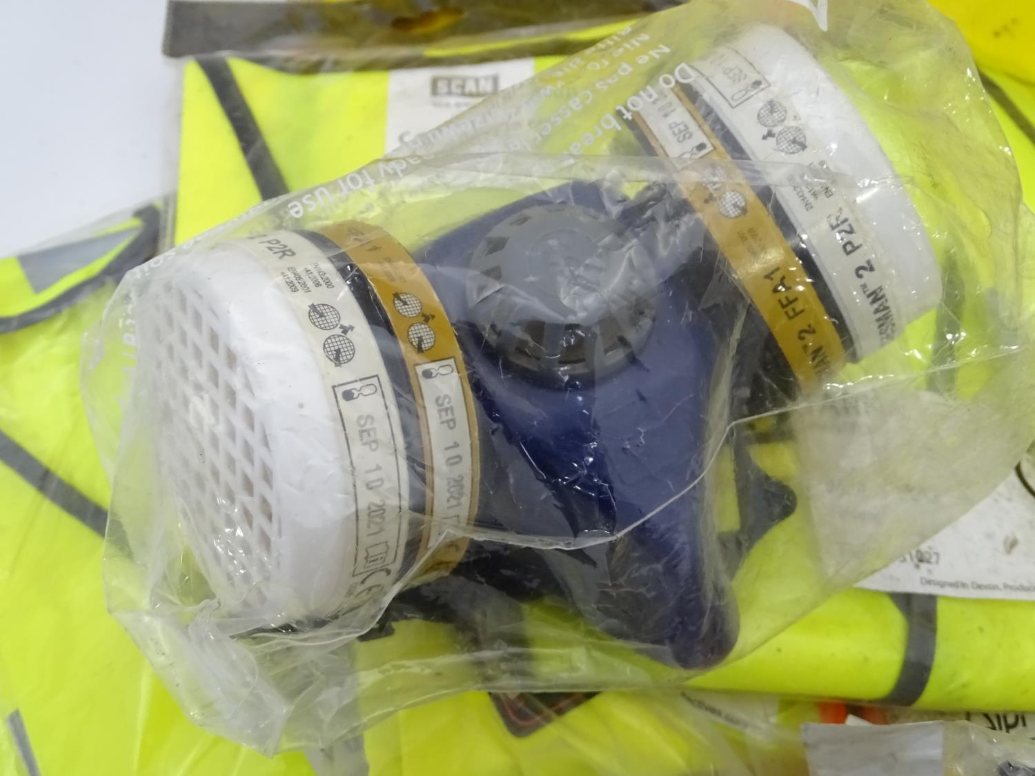 A quantity of health and safety equipment to include hard hats, safety glasses, hi vis vests etc. - Image 6 of 6