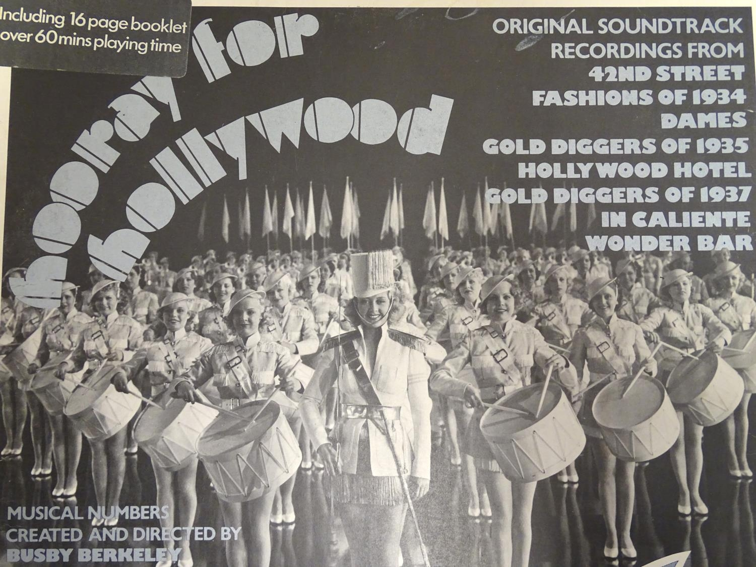 A collection of 20thC 33 rpm Vinyl records / LPs - soundtracks, classical, comprising: Hooray for - Image 3 of 8
