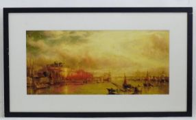 After William Parrott (1813?1869), Chromolithograph, Building the Great Leviathan / the Great