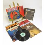A collection of 20thC 33 rpm Vinyl records / LPs - soul, jazz, blues, comprising: A Change is