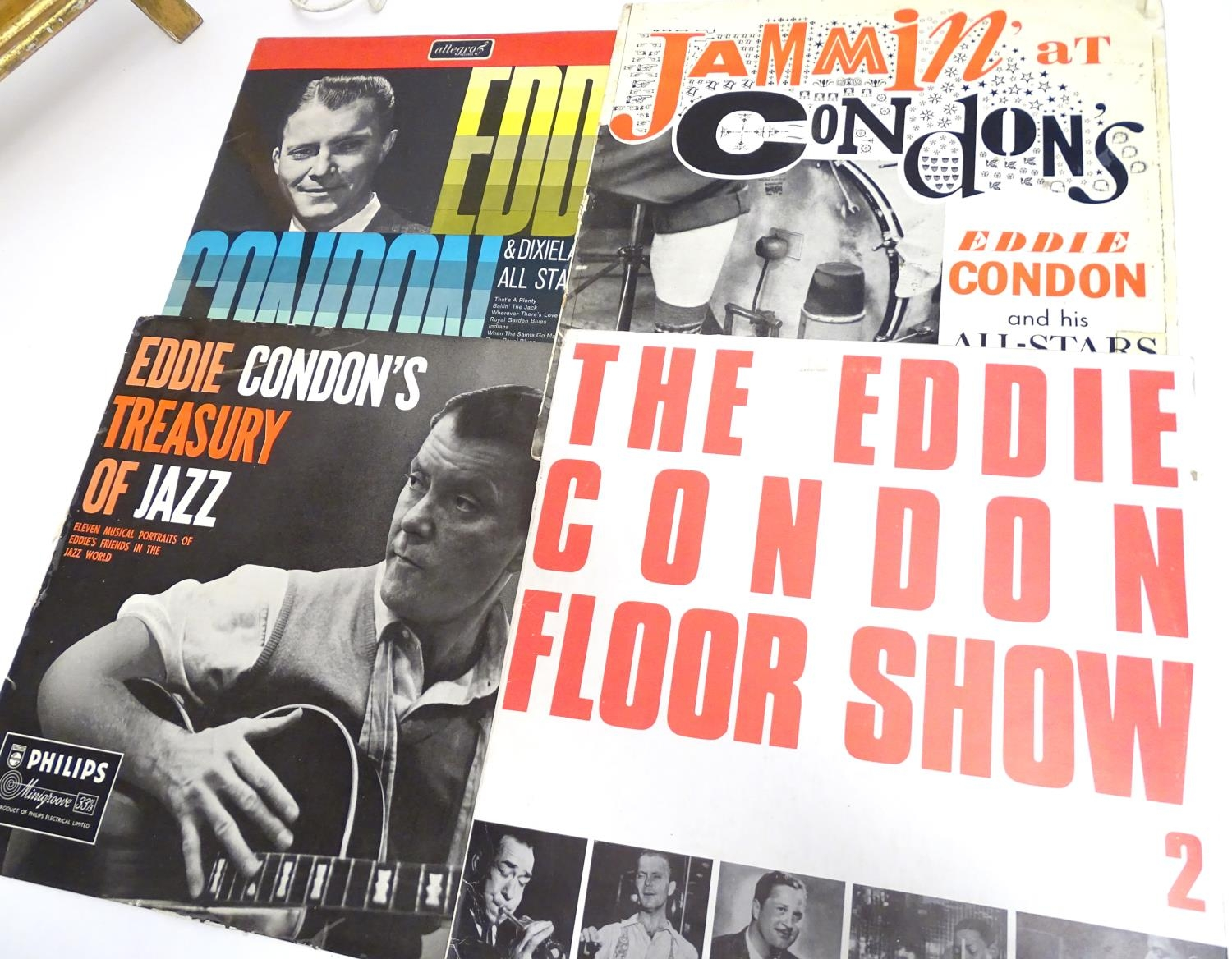 A collection of 20thC 33 rpm Vinyl records / LPs, - Jazz, comprising: The Eddie Condon Floor Show 2, - Image 15 of 19