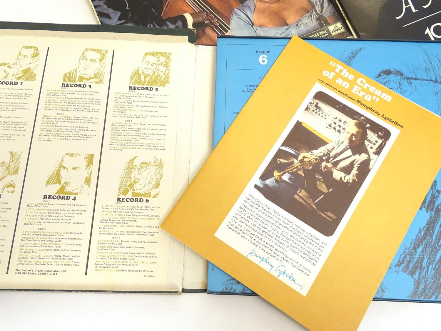 A collection of 20thC 33 rpm Vinyl records / LPs, Jazz, Big Band, Swing, comprising: Swing! (Coleman - Image 5 of 9
