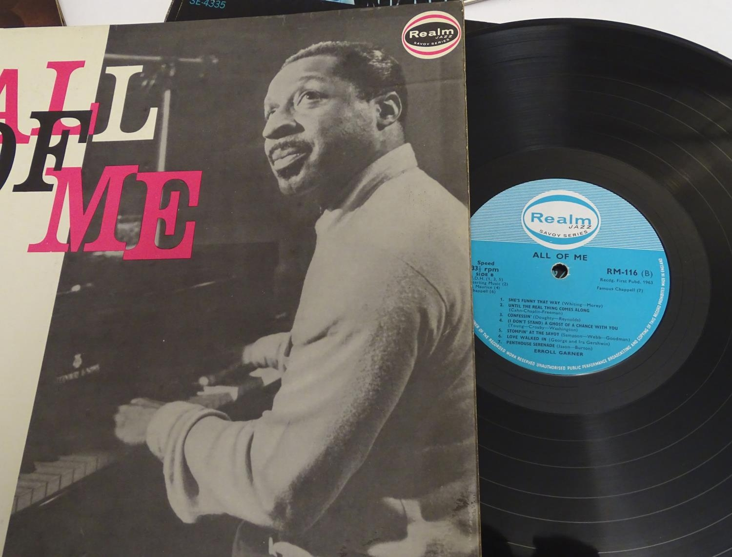 A collection of 20thC 33 rpm Vinyl records / LPs, - Jazz, comprising: The Eddie Condon Floor Show 2, - Image 10 of 19