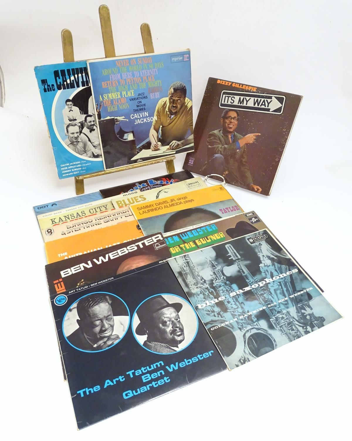 A collection of 20thC 33 rpm Vinyl records / LPs, - Jazz, comprising: The Eddie Condon Floor Show 2, - Image 7 of 19