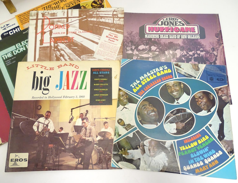 A collection of 20thC 33 rpm Vinyl records / LPs - Jazz, comprising: Bert Kaempfert: This is Bert - Image 7 of 8