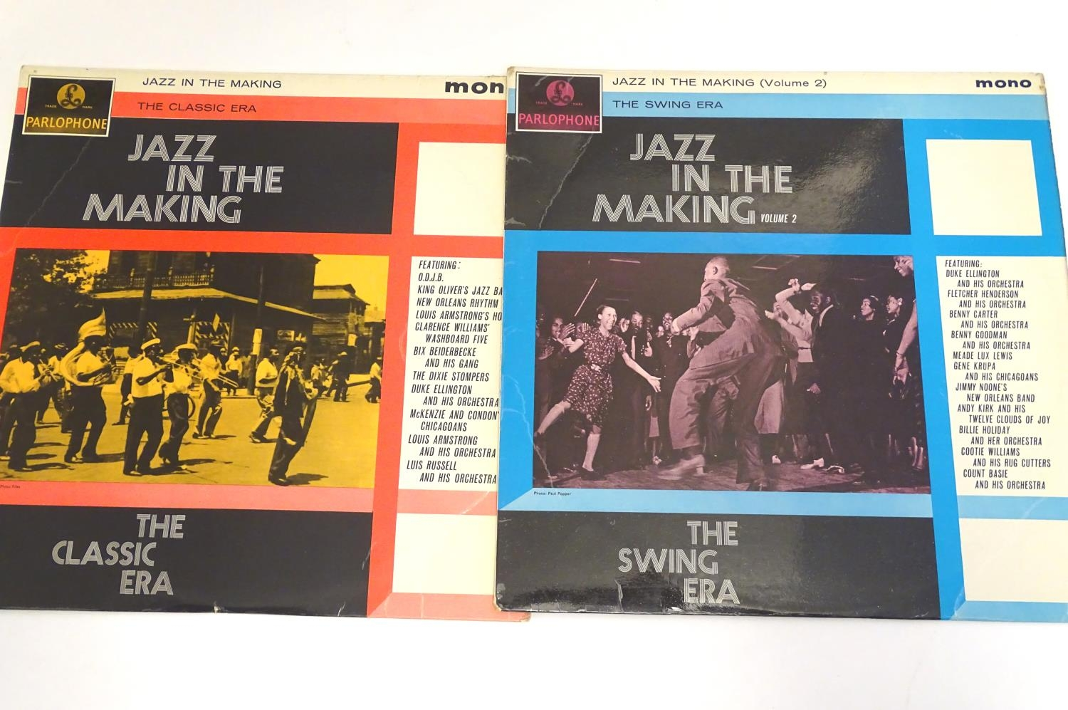 A collection of 20thC 33 rpm Vinyl records / LPs, - Jazz, comprising: The Panassie Sessions, In a - Image 11 of 11