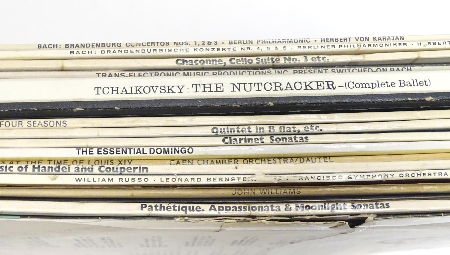 A collection of 20thC 33 rpm Vinyl records / LPs - soundtracks, classical, comprising: Hooray for - Image 5 of 8
