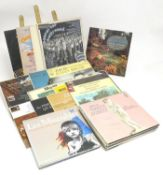A collection of 20thC 33 rpm Vinyl records / LPs - soundtracks, classical, comprising: Hooray for