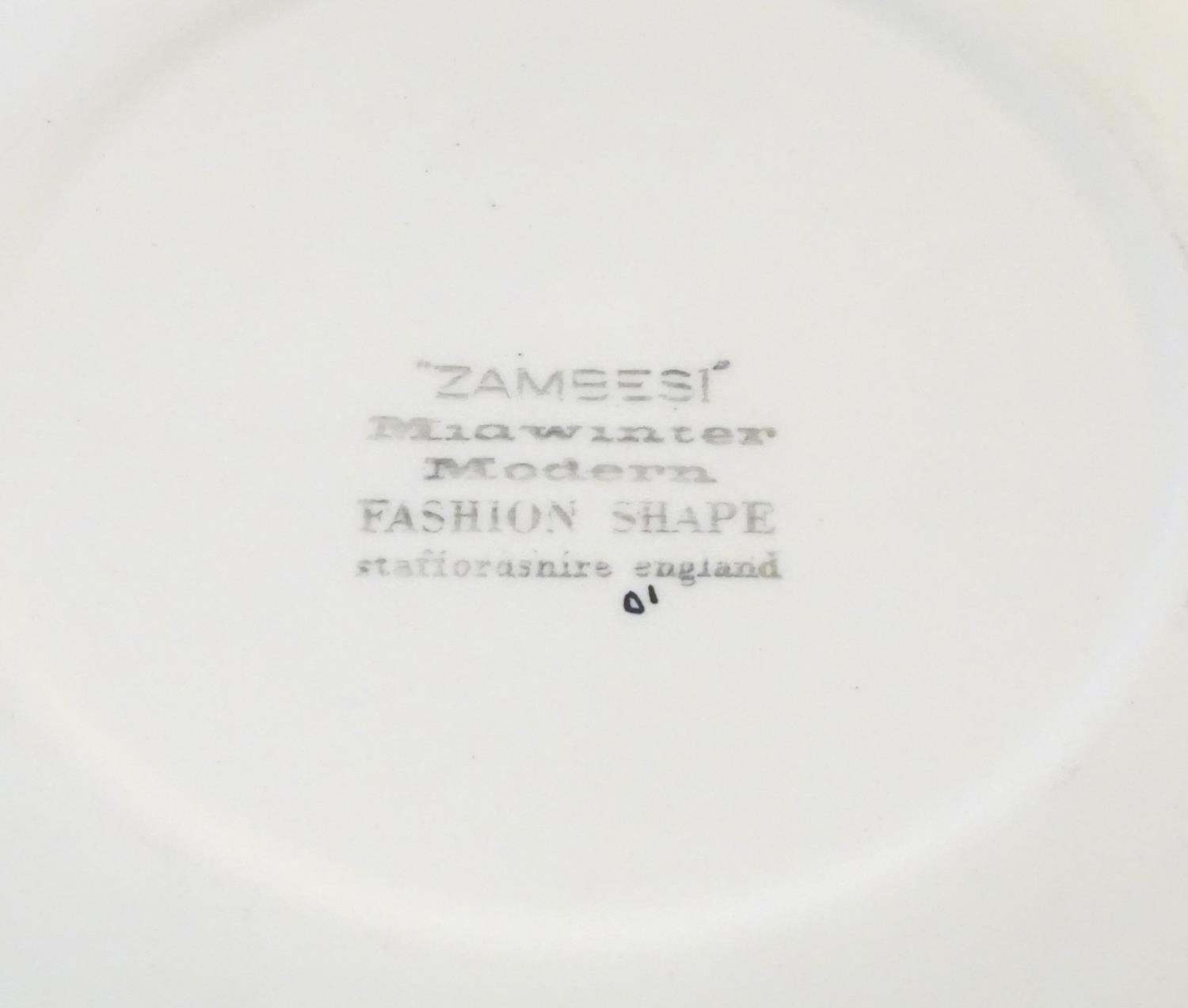 A quantity of retro Midwinter dinner wares in the pattern Zambesi, comprising plates, serving - Image 2 of 12