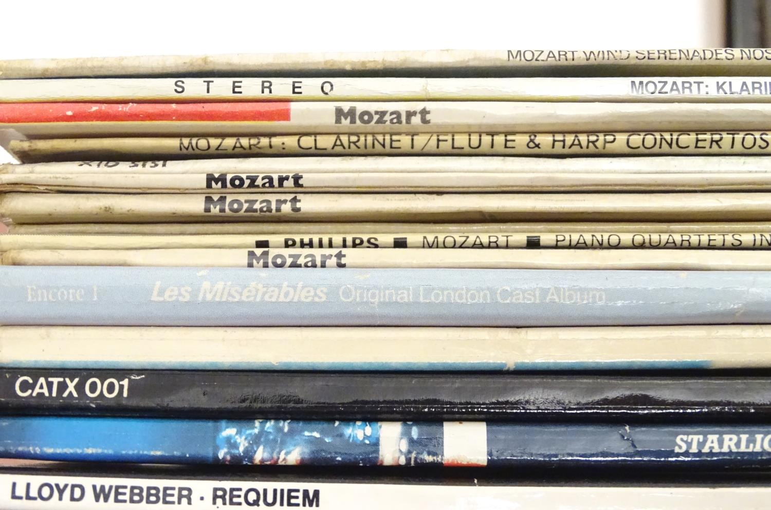 A collection of 20thC 33 rpm Vinyl records / LPs - soundtracks, classical, comprising: Hooray for - Image 6 of 8
