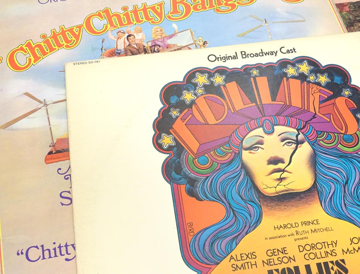 A collection of 20thC 33 rpm Vinyl records / LPs - soundtracks, classical, comprising: Hooray for - Image 8 of 8