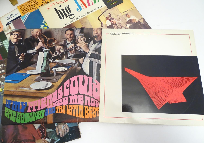 A collection of 20thC 33 rpm Vinyl records / LPs - Jazz, comprising: Bert Kaempfert: This is Bert - Image 6 of 8