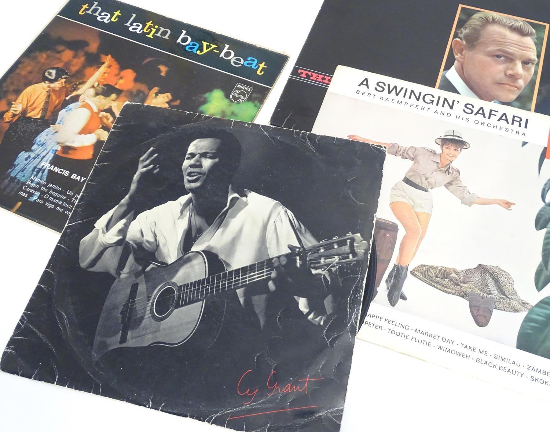A collection of 20thC 33 rpm Vinyl records / LPs - Jazz, comprising: Bert Kaempfert: This is Bert - Image 3 of 8