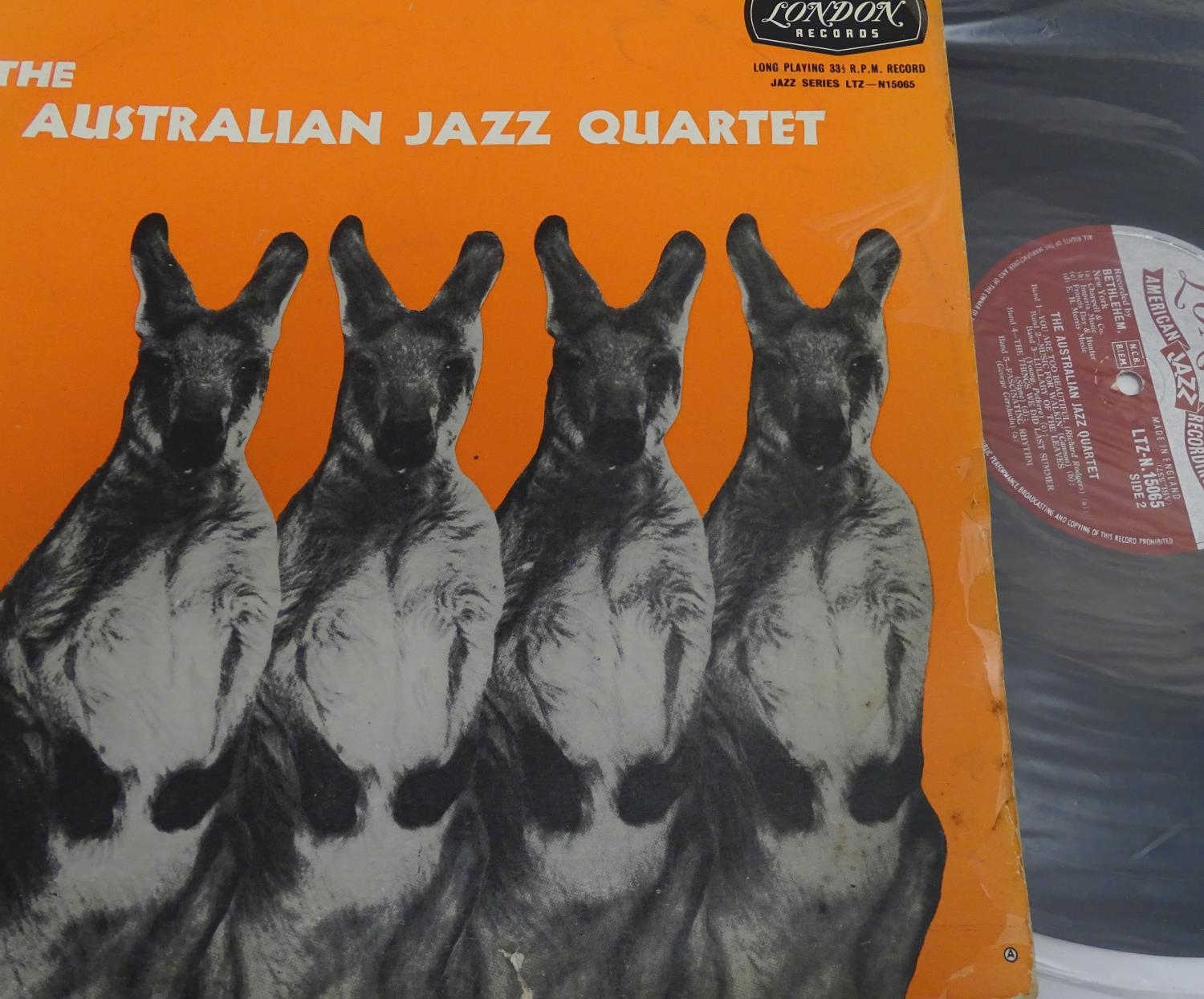 A collection of 20thC 33 rpm Vinyl records / LPs, - Jazz, comprising: The Eddie Condon Floor Show 2, - Image 19 of 19