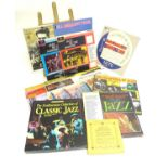 A collection of 20thC 33 rpm Vinyl records / LPs, - Jazz, comprising: The Panassie Sessions, In a