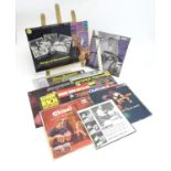 A collection of 20thC 33 rpm Vinyl records / LPs - Jazz percussionists, comprising: Ruddy Rich: