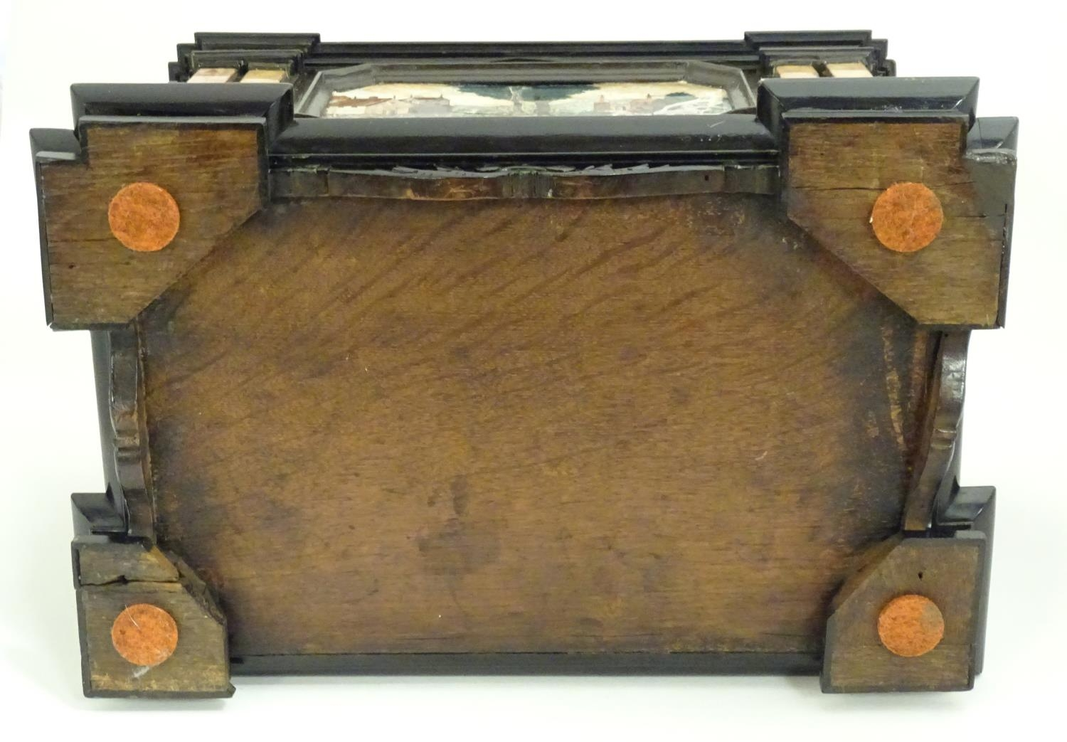 A 19thC Italian Grand Tour table cabinet / casket box of exceptionally large form with specimen - Image 56 of 58